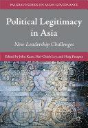 Political Legitimacy in Asia