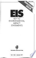 EIS, Key to Environmental Statements