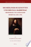 Die Berliner Hugenotten und der Fall Barbeyrac