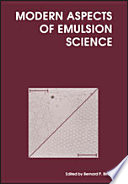 Modern Aspects of Emulsion Science
