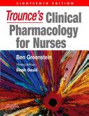 Trounce's Clinical Pharmacology for Nurses E-Book