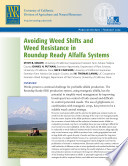 Avoiding Weed Shifts and Weed Resistance in Roundup Ready Alfalfa Systems Book