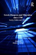 Greek Diaspora and Migration since 1700 Pdf/ePub eBook
