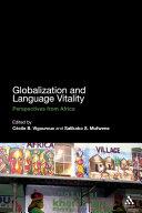 Globalization and Language Vitality