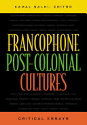 Francophone Post-colonial Cultures