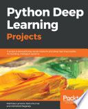 Python Deep Learning Projects Book