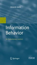 Information Behavior [Pdf/ePub] eBook