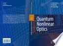 Quantum Nonlinear Optics