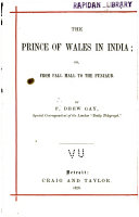 The Prince of Wales in India