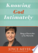 Knowing God Intimately Book