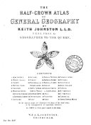 The half crown atlas of general geography