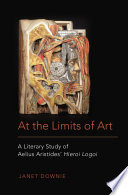 At the Limits of Art Book