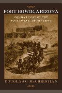 Fort Bowie, Arizona Pdf/ePub eBook