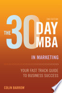 Cover of The 30 Day MBA in Marketing
