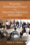Powerful Multicultural Essays For Innovative Educators And Leaders