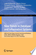 New Trends in Database and Information Systems