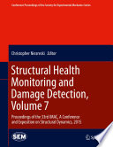 Structural Health Monitoring and Damage Detection  Volume 7