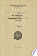 Devonian Stratigraphy and Paleontology of The Roberts Mountains Region  Nevada