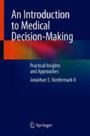 An Introduction to Medical Decision Making Book