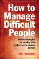 How to Manage Difficult People [Pdf/ePub] eBook
