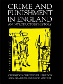 Pdf Crime And Punishment In England Telecharger