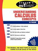 Schaum's Outline of Understanding Calculus Concepts