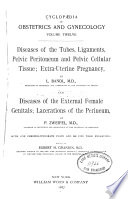 Cyclopaedia of obstetrics and gynecology. v. 12
