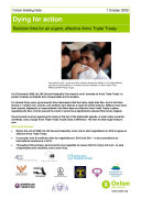 Pdf Dying for Action: Decision time for an urgent, effective Arms Trade Treaty