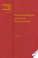 Functional Analysis And Linear Control Theory Book PDF