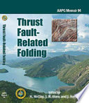 Thrust Fault Related Folding Book