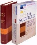 Scofield Study Bible III NKJV  Centennial Edition
