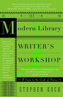 The Modern Library Writer's Workshop [Pdf/ePub] eBook