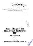 Proceedings of the ... Annual Conference and ... Conference of CASTME Africa