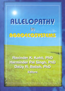 Allelopathy in Agroecosystems