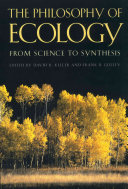 The Philosophy of Ecology