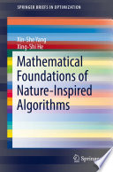 Mathematical Foundations of Nature-Inspired Algorithms