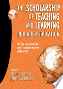 The Scholarship of Teaching and Learning in Higher Education Book