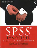 Cover of SPSS Demystified