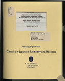 Japanese style Versus American style Human Resource Management Overseas
