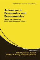 Advances in Economics and Econometrics  Volume 3