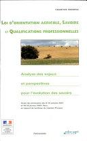 Loi d'orientation agricole, savoirs et qualifications professionnelles
