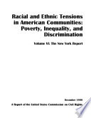 Racial and Ethnic Tensions in American Communities