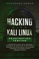 Hacking with Kali Linux  Penetration Testing Book