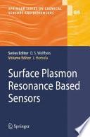 Surface Plasmon Resonance Based Sensors Book PDF