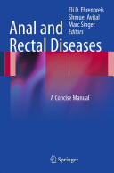 Anal and Rectal Diseases Book