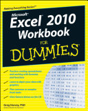 Excel 2010 Workbook For Dummies