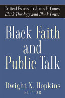 Pdf Black Faith and Public Talk
