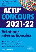 Pdf Relations internationales 2021-2022 - Cours et QCM Telecharger