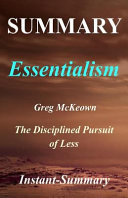Summary   Essentialism
