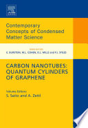 Carbon Nanotubes  Quantum Cylinders of Graphene